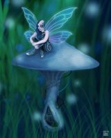 Robot Fairy by LemonSherman