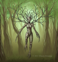 Dryad concept by SybariteVI