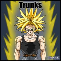 Trunks ssj 02 by DBZwarrior