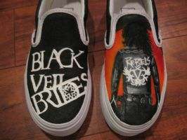 Black Veil Brides Shoes by LauurenJM