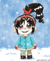 First Snow-Winter Vanellope von Schweetz by ChibiOsakachan