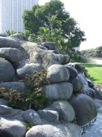 Rock Fountain 5 by dtf-stock