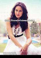 sonakshi for filmfare by 24xentertainment