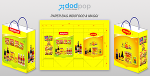 paper bag Indofood n maggi by dodpop