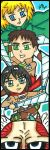 Chibi Series (Bookmarks) Mikasa-Eren-Armin-Titan by ToughSpirit