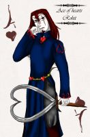 Ace of hearts - Rohit by lilka23