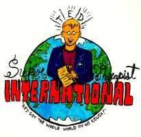Super Therapist Ted Intl Logo by oh-the-humanatee