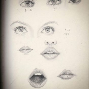 facial features by magicalmermaidcat