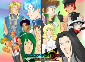 Queer Rangers Character Jam 2 by kittysenshi