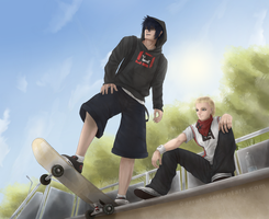 Skaters by revuse