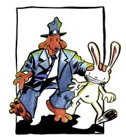 Sam and Max by The-Misfit-Toy