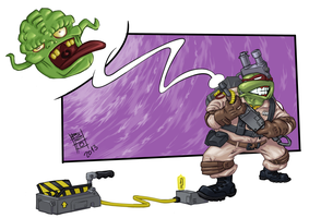 Teenage Mutant Ninja Ghostbuster [Color] by Gigabeto