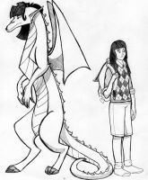 American Dragon Jake Long Haley by Sophillia