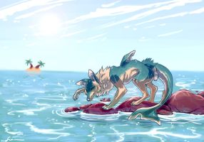 Fishies AT by LoupDeMort