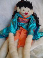 Geisha Sock Monkey by chickygrrl