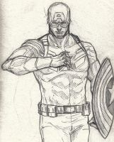 Captain Sketch by tryvor