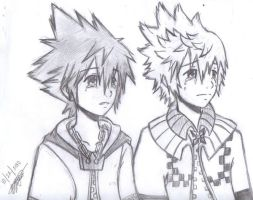 Roxas::Tears of A Nobody by Destiny-XIII