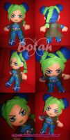 Jolyne Kujo plush version by Momoiro-Botan
