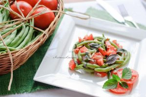 Lazy summer day: salad by cheshirekster