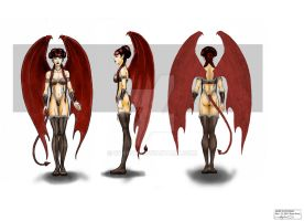 Succubus Character Sheet Colour by RyanVP