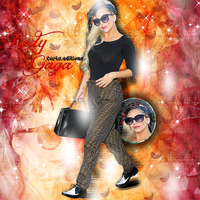 Blend-Lady Gaga-Fashion of His Love- by Carls-Editions