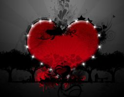 love beats darkness by EstebanDesigns