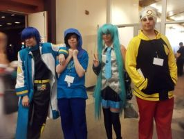 Natsucon 2013, a picture with our John-human by Kaito-x-Shion