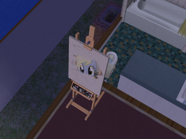 Derpy in Sims PS by cadpig1099