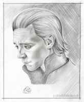Loki Pencil Sketch by EmilyHitchcock