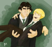 did someone say draco malfoy by Prydester