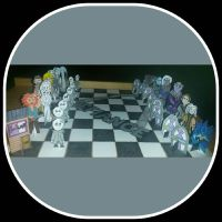 Defiance chess set. by Insignificant-Me