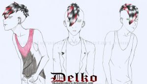 New OC: Delko by AkakoToramaru