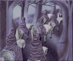 The Last March of the Elves by Morna