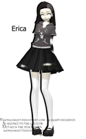 [MMD][DL][RQ]Erica by AlionaLawliet