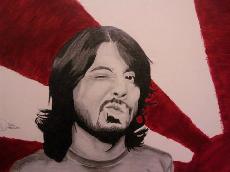 Dave Grohl by TheMathWhiz