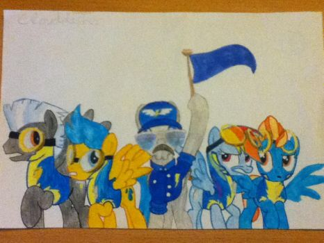 Blue Team Ready !!!!! by clouddasher