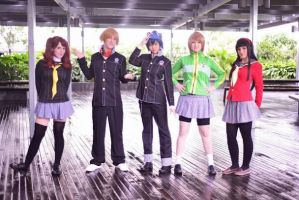 Persona 4 | investigation team by s4-ki