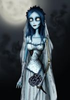 corpse bride by nastynoser