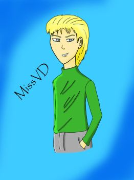 Young Lucius Malfoy by MissVD