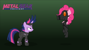Metal Gear Twilight: Pinkie Mantis by JimiTheStache
