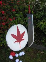 Momiji Inubashiri's Sword, Shield and Tokin by Zakenna