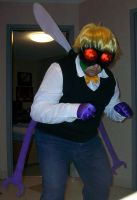 Baxter Stockman Cosplay 1 by Orannis0