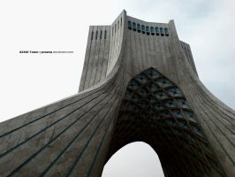 AZADI Tower by proama