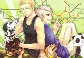 Koi: Germans and dogs by Kairek