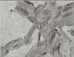 Halo 4 Promethean Knight by MechSquadron