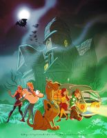 SCOOBY-DOO!!! WHERE ARE YOU??? by splendidriver