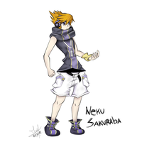 Neku Sakuraba Fanart - Request. by Jackyru