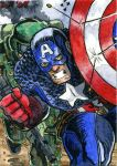 Captian America by DKuang