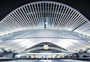 Spacecraft - Liege-Guillemins by ThomasHabets