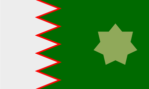 Khaleeji flag by Shikku27316